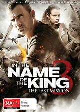 In the Name of the King 3: The Last Mission - Uwe Boll NEW R4 DVD