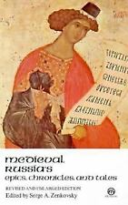 *NEW* Medieval Russian Epics, Chronicles, and Tales by Serge A. Zenkovsky