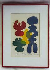 Original Japanese Woodblock Print Signed Limited Edition by Mitsuaki Sora 11/100