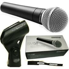 SHURE SM58-LCE vocal microphone cardiod dynamic microfono 100% originale