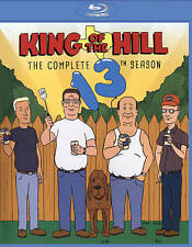 King of the Hill: Season 13 (Blu-ray Disc, 2015, 3-Disc Set)