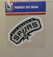 SAN ANTONIO SPURS 4 X 4 DIE-CUT DECAL OFFICIALLY LICENSED PRODUCT