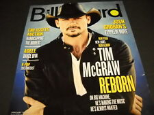 TIM McGRAW has been REBORN 2013 BB cover PROMO DISPLAY AD