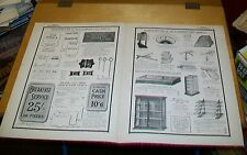 SHOP FITTINGS POTTER & SONS  ADVERTISEMENTS from BENN'S HARDWARE 1915 (4 pp)