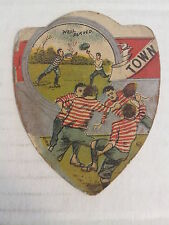 "TOWN - Baines ""shield"" RUGBY Trading Card, UK circa 1890s   VERY GOOD condition"