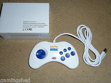 PC USB GAMEPAD CONTROLLER Play Sega Branded BRAND NEW Sega Saturn Style Game Pad