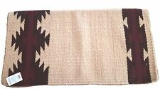 Mayatex WOOL show saddle BLANKET pad -Rio Concho---36X34-Light tan