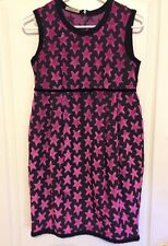 MI MI SOL Italy Girls Size 12 Waisted Dress Stars Adorable Used Once EEUC