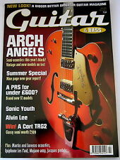 GUITAR & BASS Magazine SONIC YOUTH ALVIN LEE ZUTONS PRS MARTIN MOJAVE July 2004