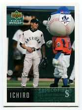 2004 Pepsi Upper Deck ICHIRO SUZUKI First Pitch Hit Run Rare Seattle Mariners SP