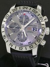 Chopard Mille Miglia 1000 GMT 8992 SS automatic chronograph men's watch w/ B & P