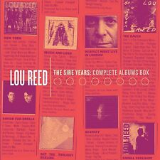 LOU REED - SIRE YEARS:COMPLETE ALBUM BOX 10 CD NEU