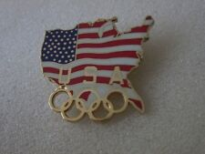1996 ATLANTA OLYMPICS  USA pin badge