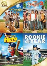 SANDLOT/SANDLOT 2/EVERYONES HERO/ROOKIE OF THE YEAR (DVD, 2015) NEW