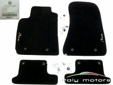 Original Alfa Romeo Brera Fußmatte Fußteppich Fußmatten Tuftvelour NEU 50903212
