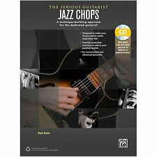 Alfred The Serious Guitarist Jazz Chops Book & CD ,40260