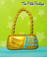 MONSTER HIGH 13 WISHES HOWLEEN WOLF DOLL OUTFIT REPLACEMENT GOLD PURSE BAG ONLY