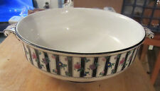 Booths 1181 England Silicon China 649409 Pedestal Bowl Flowers Handles 10 Inches