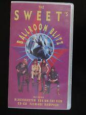 (RARE) THE SWEET'S BALLROOM BLITZ  VHS VIDEO