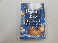 The Island of the Day Before by Umberto Eco (1995) ADVANCED READER COPY! TRUE 1!
