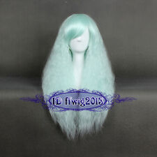 70cm Gothic Style Lolita Mint Rhapsody Curly Wave Fluffy Cosplay wig Hair CC14C1