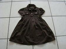 S.OLIVER KLEID 104 Hängerchen TUNIKA Kleidchen Mädchen kurzarm braun w NEU