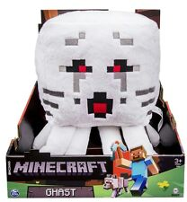 Minecraft Ghast Plush Large Stuffed Figure Toy White Ghost Video Game Character