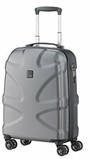 "Titan X2 Hard Luggage International 21"" Stylish CarryOn Spinner (Gunmetal)"