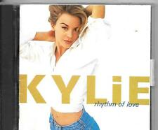 CD ALBUM 11 TITRES--KYLIE MINOGUE--RHYTHM OF LOVE--1990