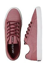 Supra Assault Burgundy/White Men's Shoes Low Sneakers Size 10