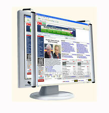 Computer Screen Magnifier 19 Inch LCD TV or PC for Low Vision, Anti Glare