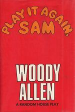 """WOODY ALLEN """"Play It Again, Sam"""" SIGNED FIRST, 4th Printing + Theater Ticket"""