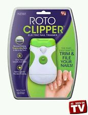 Roto Clipper Electric Nail Trimmer As Seen On Tv USA SELLER NEW OPEN BOX!