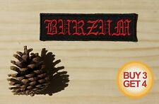 1BURZUM R PATCH,BUY3GET4,DARKTHRONE,BATHORY,EMPEROR,MAYHEM,ULVER,TAAKE,MGLA,1349