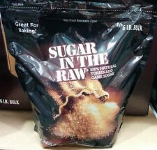 Sugar in the Raw ~ 100% Natural Turbinado Cane Sugar ~ 6 lb - FREE Priority Ship