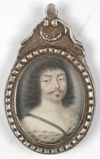 """""""King Louis XIII as Adonis"""", French miniature, 1st half of the 17th century"""