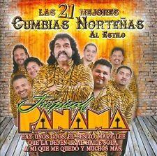 Tropical Panama-Las 21 Mejores Cumbias Nortenas CD NEW