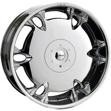 20 X 10 Dvinci Tuscani Chrome wheels Fit BMW X5 X6 Camaro Cayene FX35 FX45