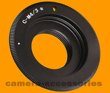 C Mount Movie lens to Micro Four Thirds 4/3 m4/3 adapter for E-P1 E-P2 E-PL2 GH2