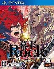 Bakumatsu Rock Ultra Soul PS Vita SONY JAPANESE NEW JAPANZON
