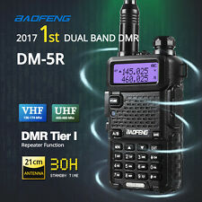 2017 Baofeng DM-5R DMR Two-way Ham Radio Transceiver Dual Band/Mode V/UHF 128CH