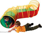 2.8M ZIGZAG POP UP POPUP TUNNEL WITH CLEAR MESH & CARRY CASE KIDS / BOYS / GIRLS
