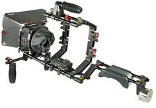 Filmcity FC-02 Shoulder Steady Rig with handles MB-600 Video Mattebox Hood DSLR