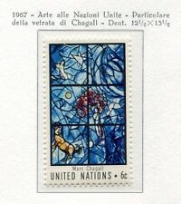 19079) UNITED NATIONS (New York) 1967 MNH** Chagal