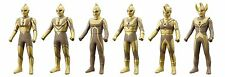 "Ultraman Ultra 6 brothers 5.5"" figures set 2016 BANDAI 50 Anniversary New Japan"