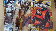 from Batman Comic Lot Nightwing 2011 1-6 8-12 vf+ bagged