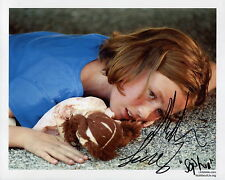 MADISON LINTZ HAND SIGNED 8x10 COLOR PHOTO+COA      SOPHIA FROM THE WALKING DEAD