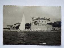 CRES CHERSO barca vela Dalmazia Quarnero vecchia cartolina AK Croazia