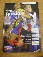 07/10/2006 Exeter City v Halifax Town  .  This item is supplied by Footy Progs,