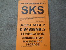 SKS All Nations 7.62x39  Rifle Manual 23 pages
